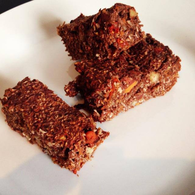 Eksperiment med protein bar