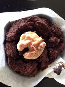 Chokolade muffins uden mælk, sukker, gluten