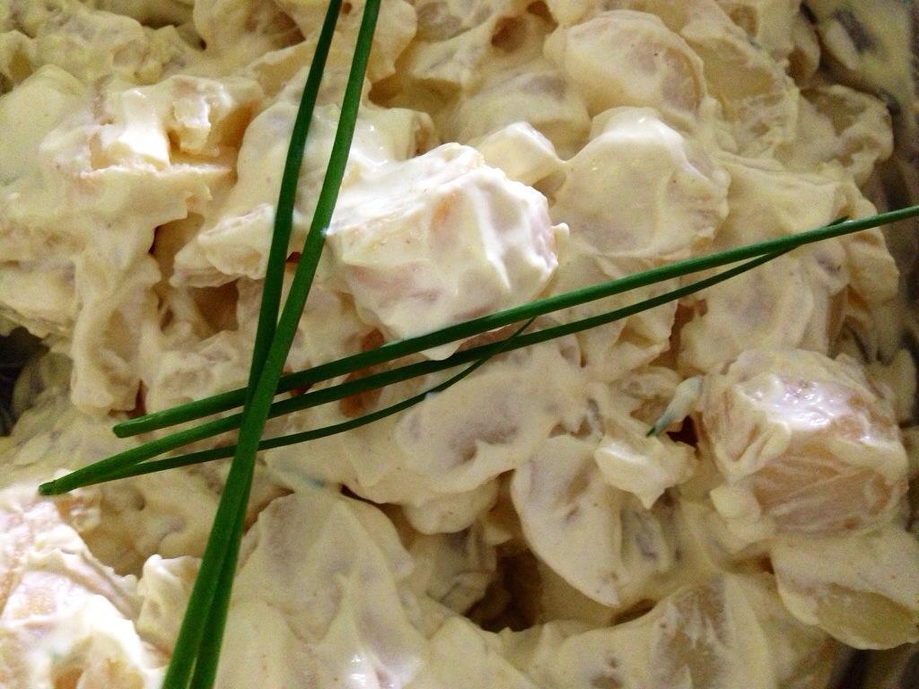 Klassisk kartoffel salat