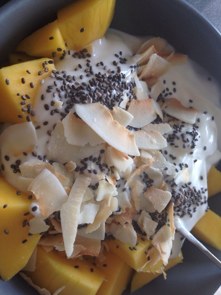 Mango og skyr