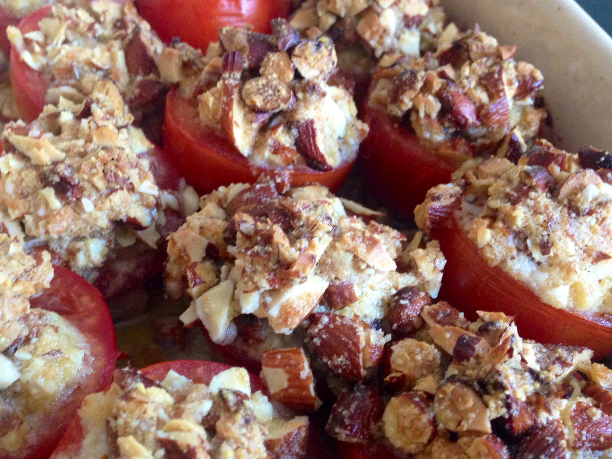 Tomater med topping