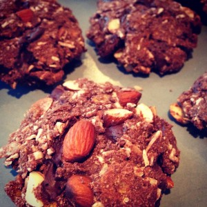 Cookies- sukker, gluten og mælke fri