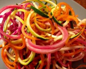 Grøntsags pasta