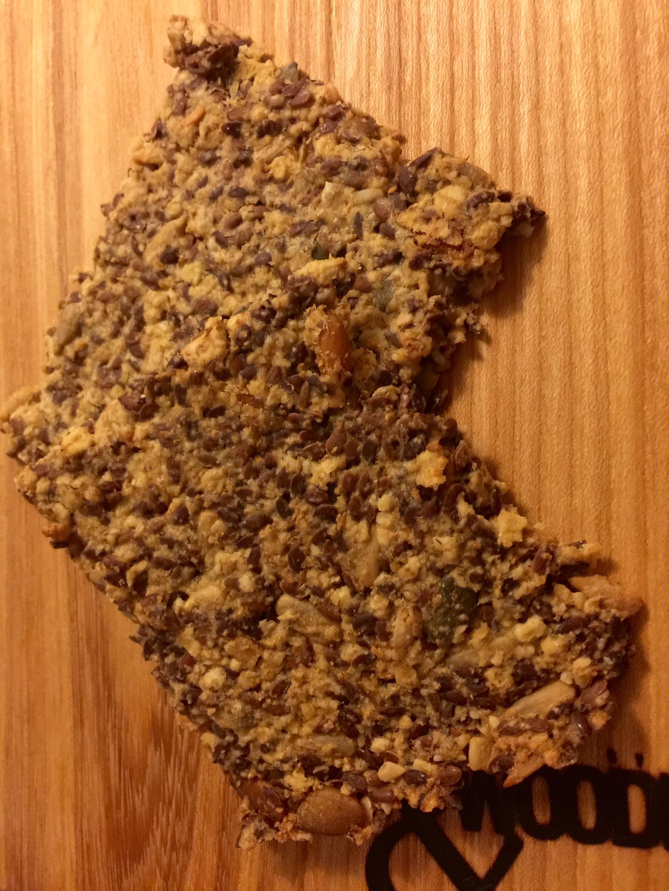 Knækbrød med chufamel