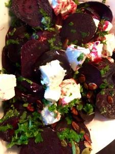 Bagt rødbede salat
