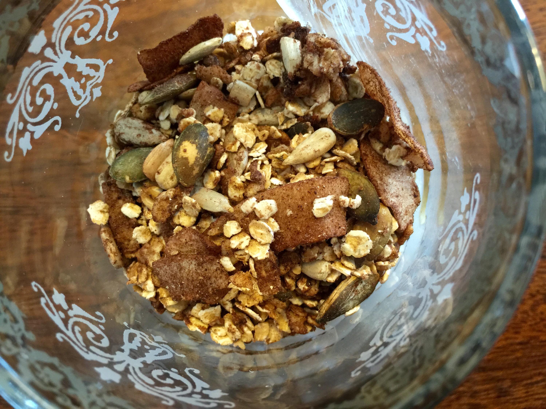 Kakao og kanel muslie