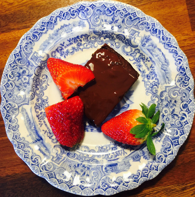 After eight chokolade kage