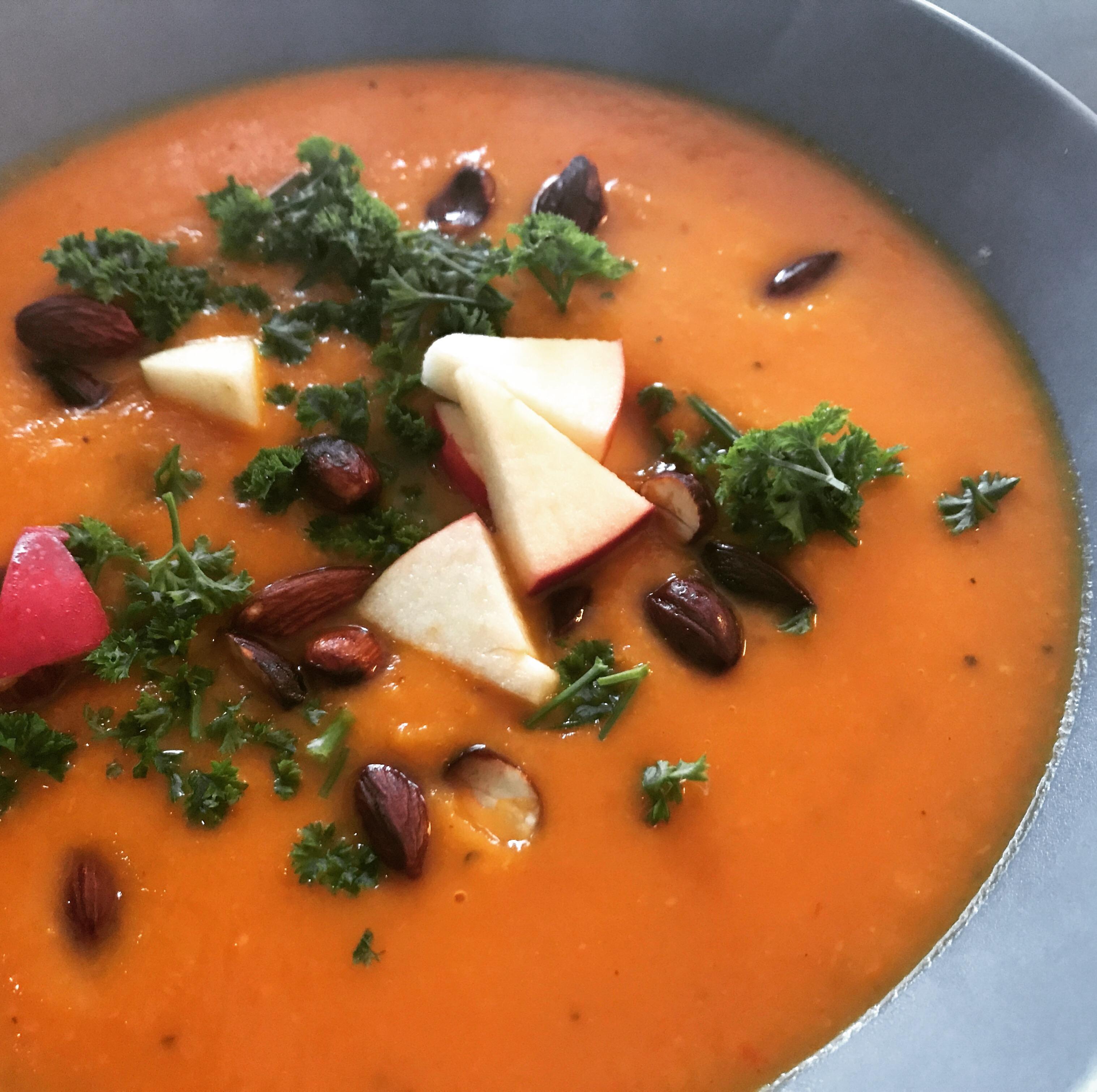 Græskar suppe