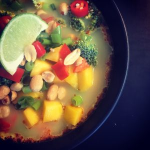 Thai kyllingesuppe